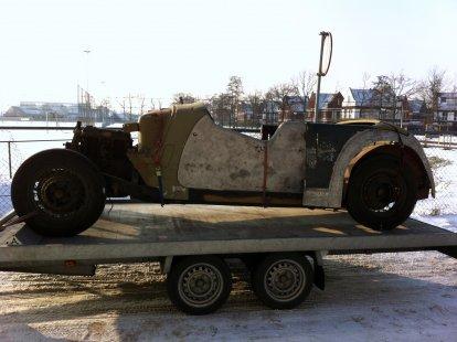 """22.01.2013 """"de aanschaf van een Rover 12 Tourer 1947"""""""