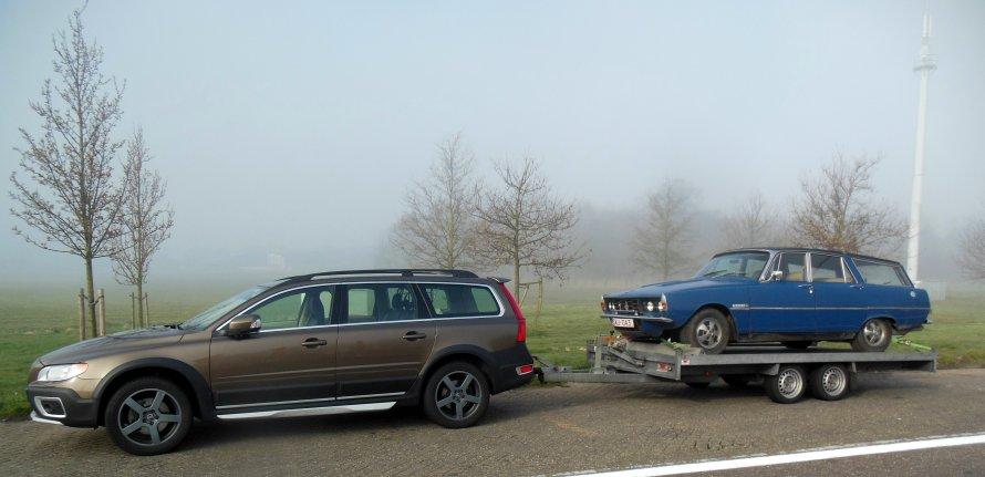 Rover P6 3500S Estate..... aandrijflijn uitlijnen en aanpassen