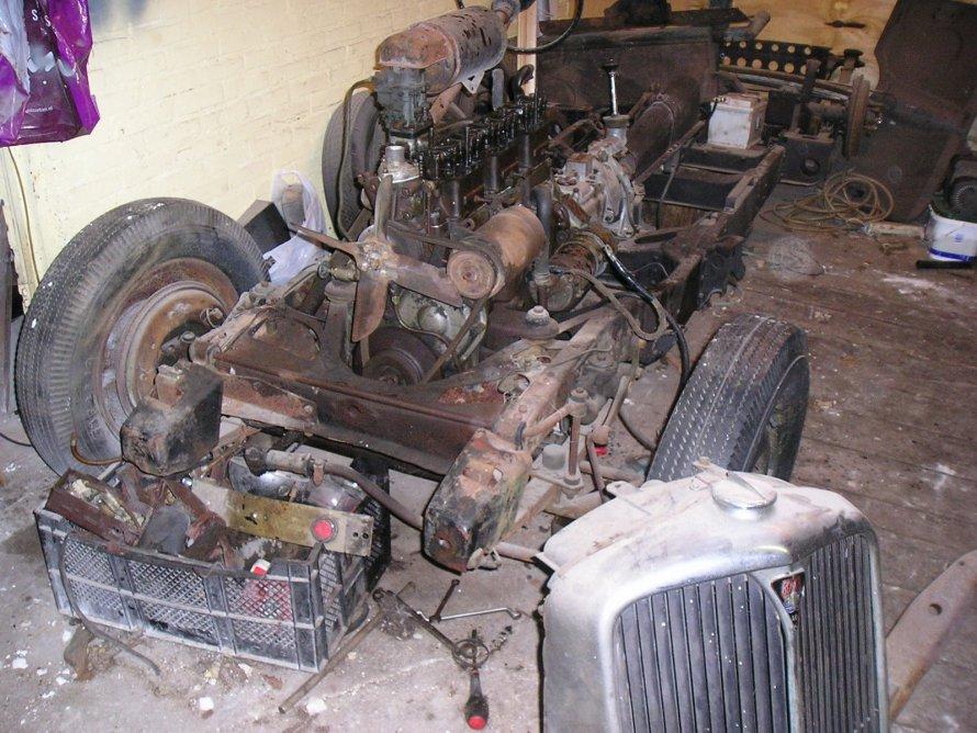 """27.04.2014 """"Het chassis met motor"""""""