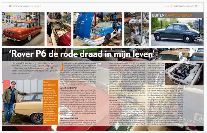 Mooi stukje tekst in Aftersalesmagazine !! (pg 72/73)