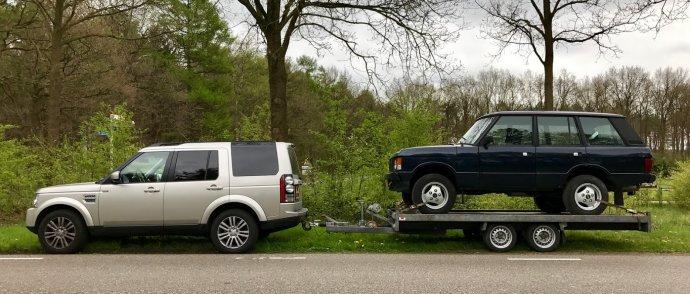 juni 2017 : Range Rover Classic laswerk en V8 revisie