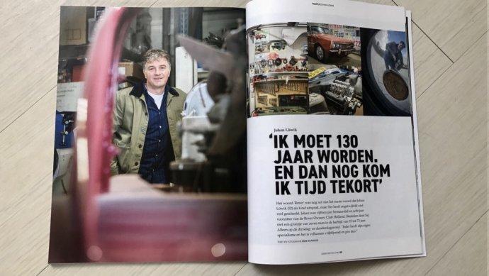 Trots.... artikel van 8 pagina's in Great British Cars (by Mike Raanhuis)