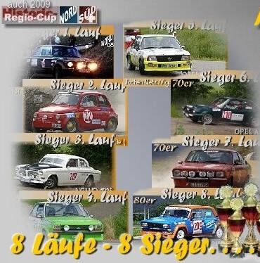 Finale Duitse Historic Rallye Cup