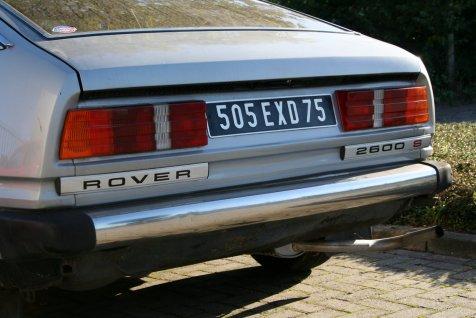 Nieuwe aanwinst : Rover SD1 2600S 1981