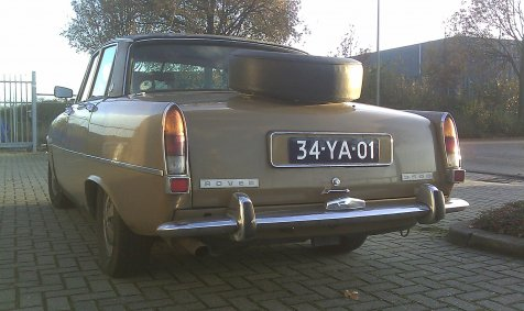 Rover p6 3500 Tobacco Leaf / Mexico Brown ?
