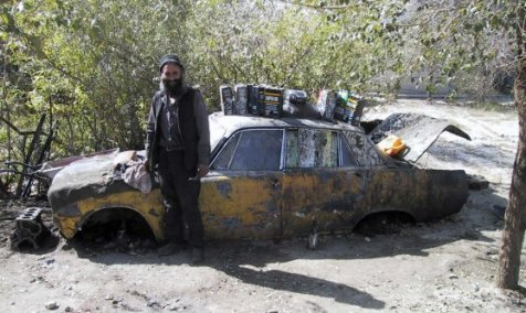 Rover P6 in Kabul..........!