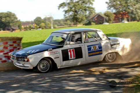 Prima resultaat Classic Rover Rally Team  !!