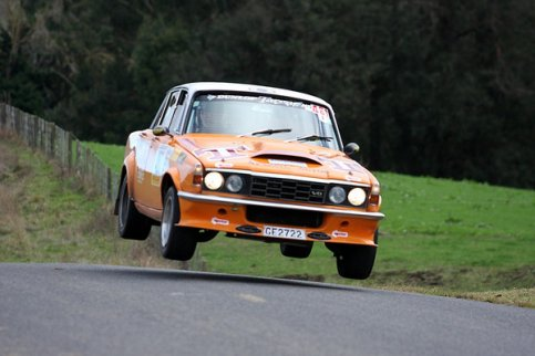 Nieuw Zeeland.......Rover P6 3500S