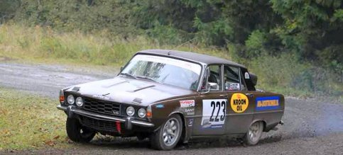 """Classic Rally Rover Team start in Legend Twente"
