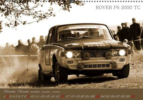 Kalender Historic Rally Cars 2014 !!