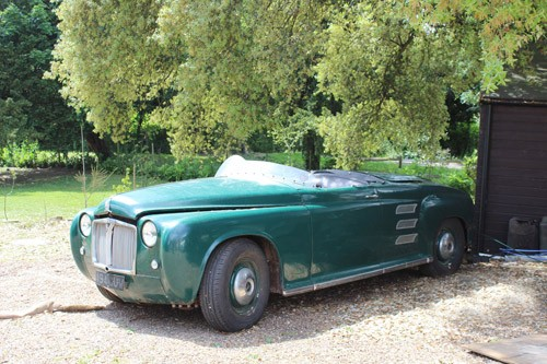 leuke replica : 1961 Rover Jet 1 Recreation