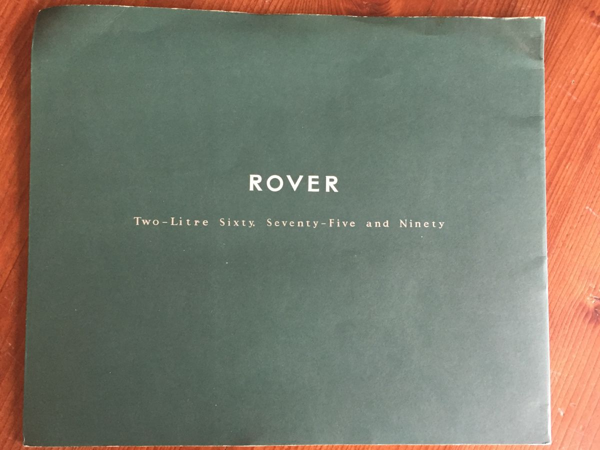 Rover 2ltr 60, 75 & 90
