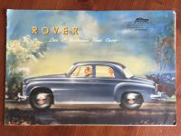 Rover 'One of Britain's Fine cars'